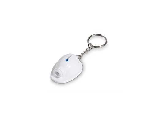 Construction Torch Keyholder - Solid White Only