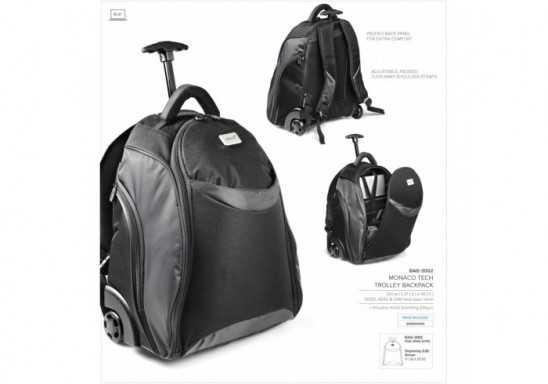 Monaco Tech Trolley Backpack