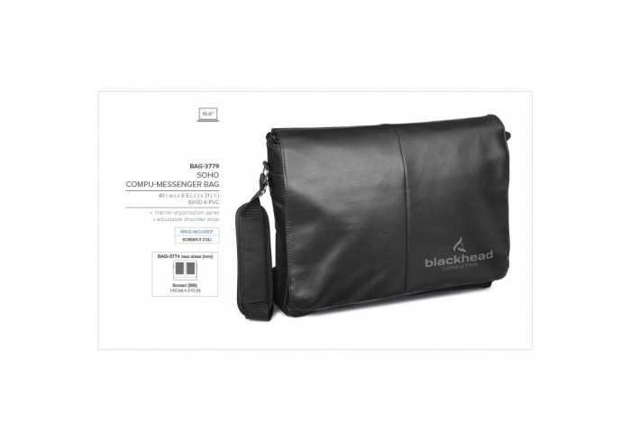 Soho Compu-Messenger Bag