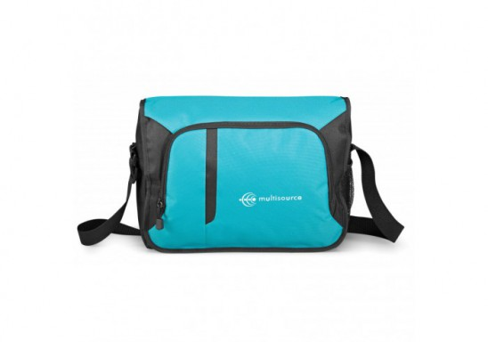 Cobalt Compu-Messenger Bag - Turquoise Only