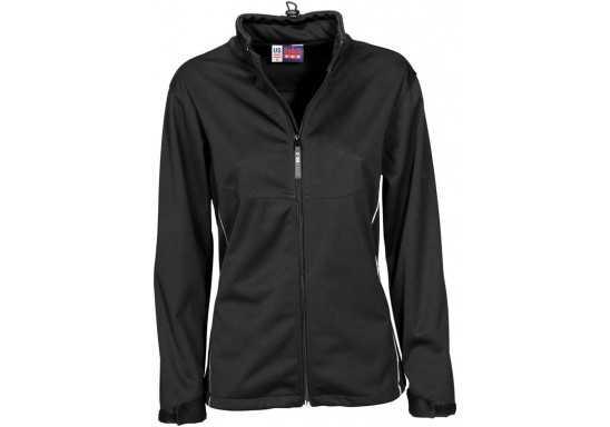US Basic Cromwell Ladies Softshell Jacket - Black