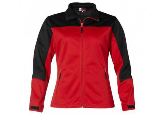 US Basic Attica Ladies Softshell Jacket - Red