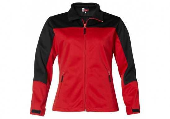 US Basic Attica Ladies Softshell Jacket - Red