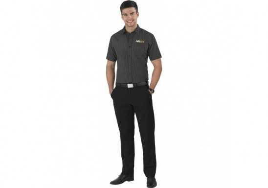 US Basic Huntington Mens Short Sleeve Shirt