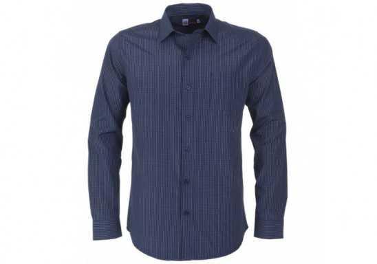 US Basic Huntington Mens Long Sleeve Shirt