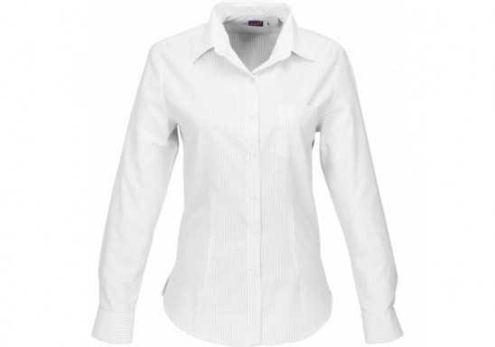 US Basic Huntington Ladies Long Sleeve Shirt