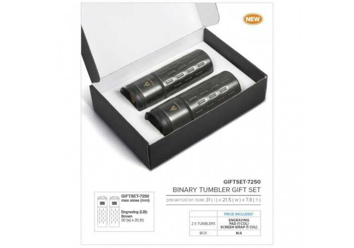 Binary Tumbler Gift Set