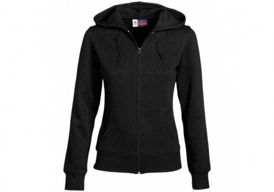 US Basic Ladies Bravo Hooded Sweater - Black