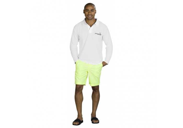 US Basic Boston Mens Long Sleeve Golf Shirt