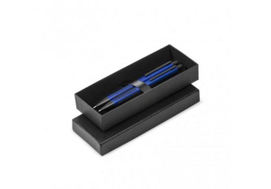 Capital Ball Pen & Clutch Pencil Set - Blue