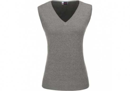 US Basic Ladies Sleeveless Trenton V-Neck Jersey