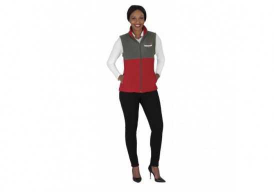US Basic Benneton Ladies Zip-Off Fleece Jacket