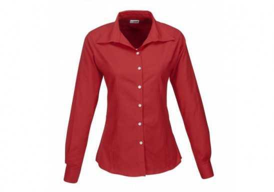 US Basic Aspen Ladies Long Sleeve Shirt