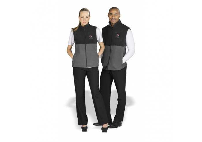 US Basics Mens Benneton Zip-Off Micro Fleece Jacket