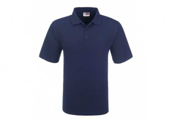 US Basic Cardinal Mens Single Jersey Golf Shirt