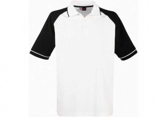 US Basic Sydney Mens Golf Shirt - Black