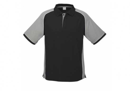 Nitro Mens Golf Shirt - Grey