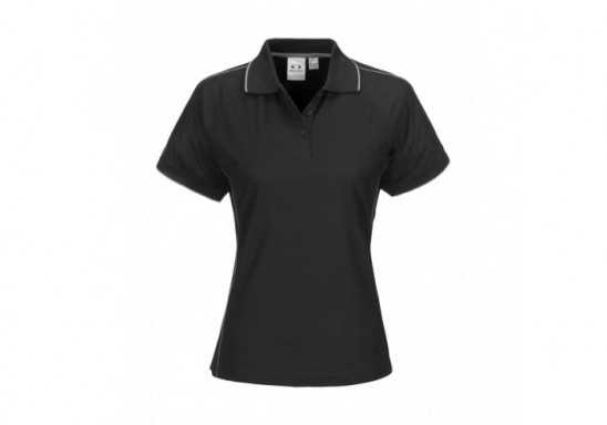 Resort Ladies Golf Shirt - Black