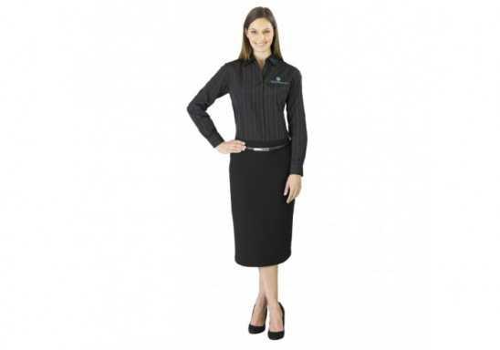 New Yorker Ladies Long Sleeve Shirt