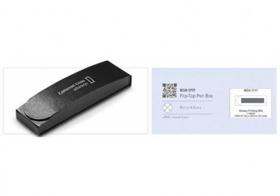 Flip-Top Pen Box