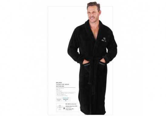 Signature Mens Bathrobe